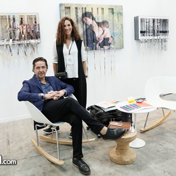 Ricardo Reyes y Carolina Méndez