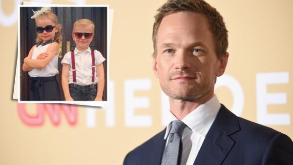 A su corta edad, los hijos del protagonista de &#39How I Met Your Mother&#39 ya están llamando la atención de los medios.