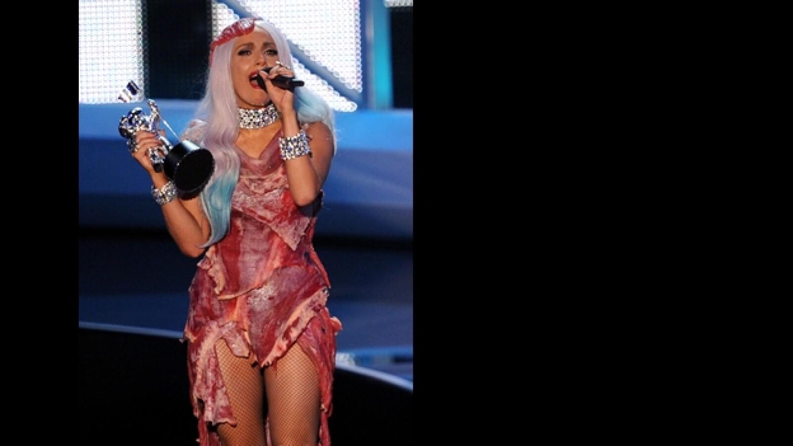 vestidos exóticos MTV VMA 1