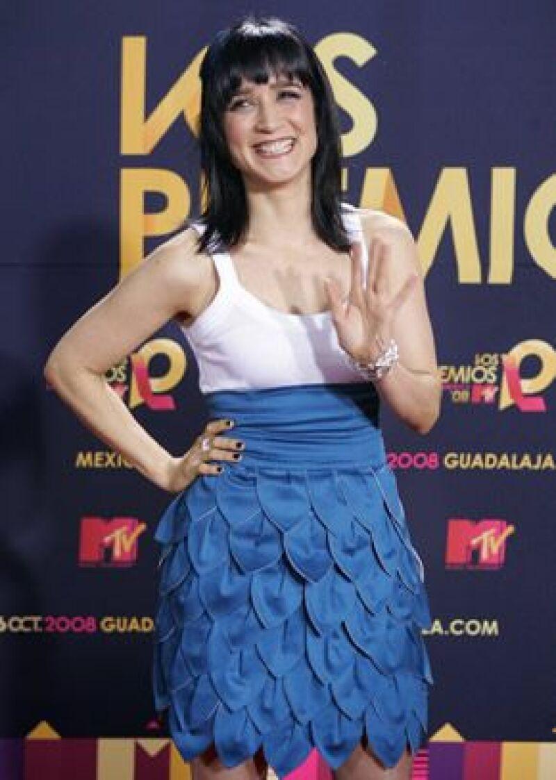 La sencillez fue el rasgo característico de la entrada de los artistas al evento en Guadalajara.