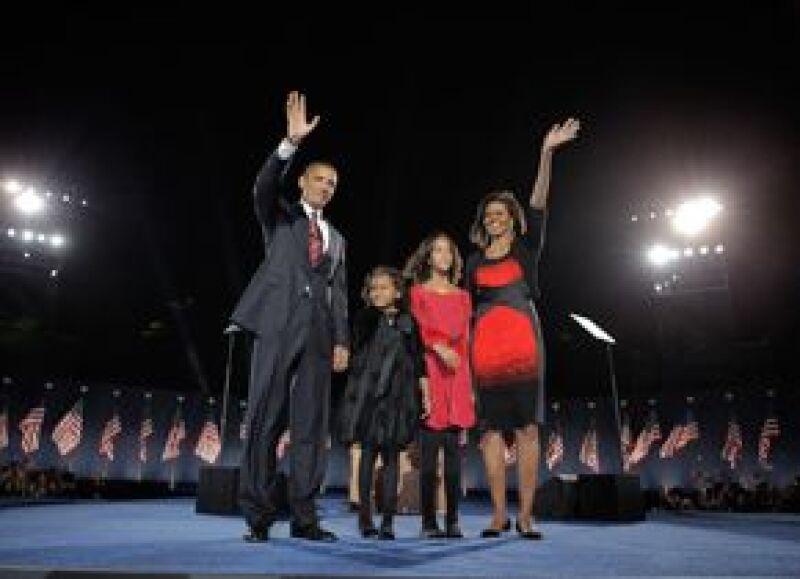 El demócrata se convirtió en el primer presidente negro de Estados Unidos después de su histórica campaña por la Casa Blanca.