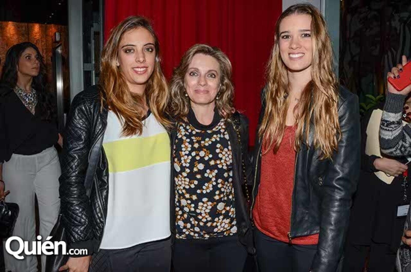 Ana Paula Chico,Lorraine Picard y Lorraine Picard Jr.