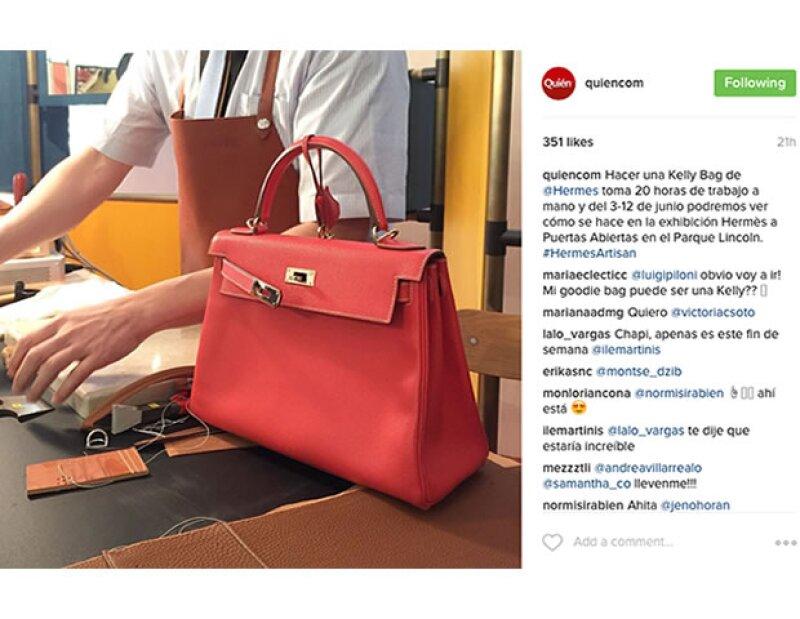 La firma francesa trae a México la exhibición Hermès a Puertas Abiertas del 3 al 12 de junio en el Parque Lincoln de Polanco. En esta muestra podemos ver a sus artesanos creando sus exlusivas piezas.