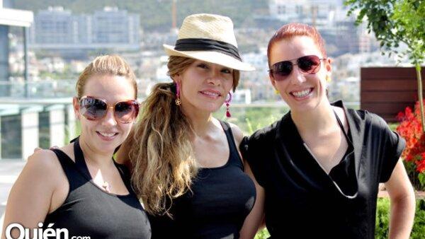 Diana Guerra,bVanessa Portales y Erika Garza
