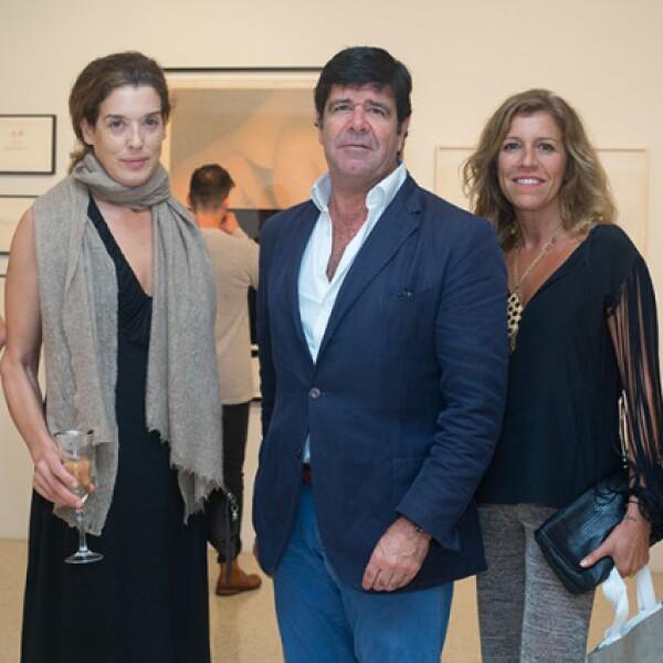 Nicole Meyer,José Duarte y Paola Matos