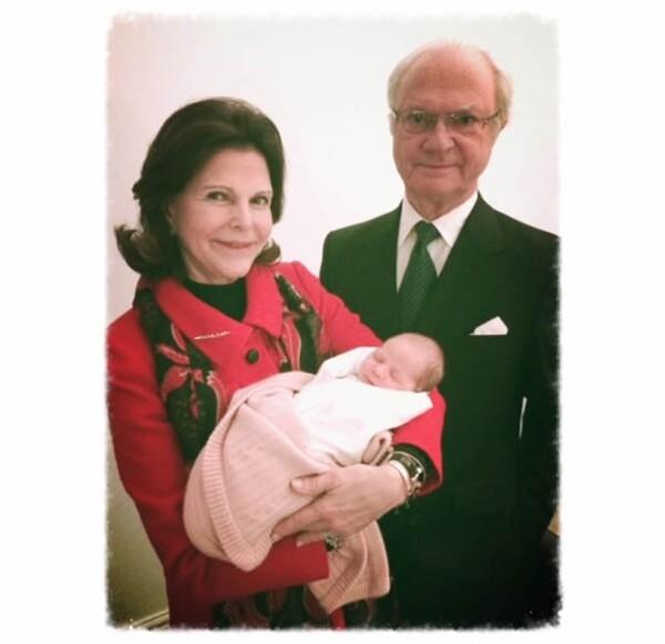 Leonore es la segunda nieta de los Reyes de Suecia.