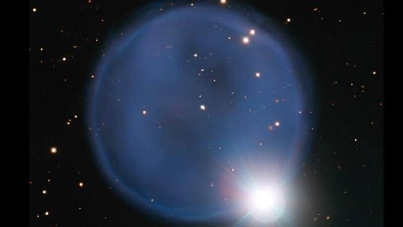 anillo espacio abell 33 nebulosa