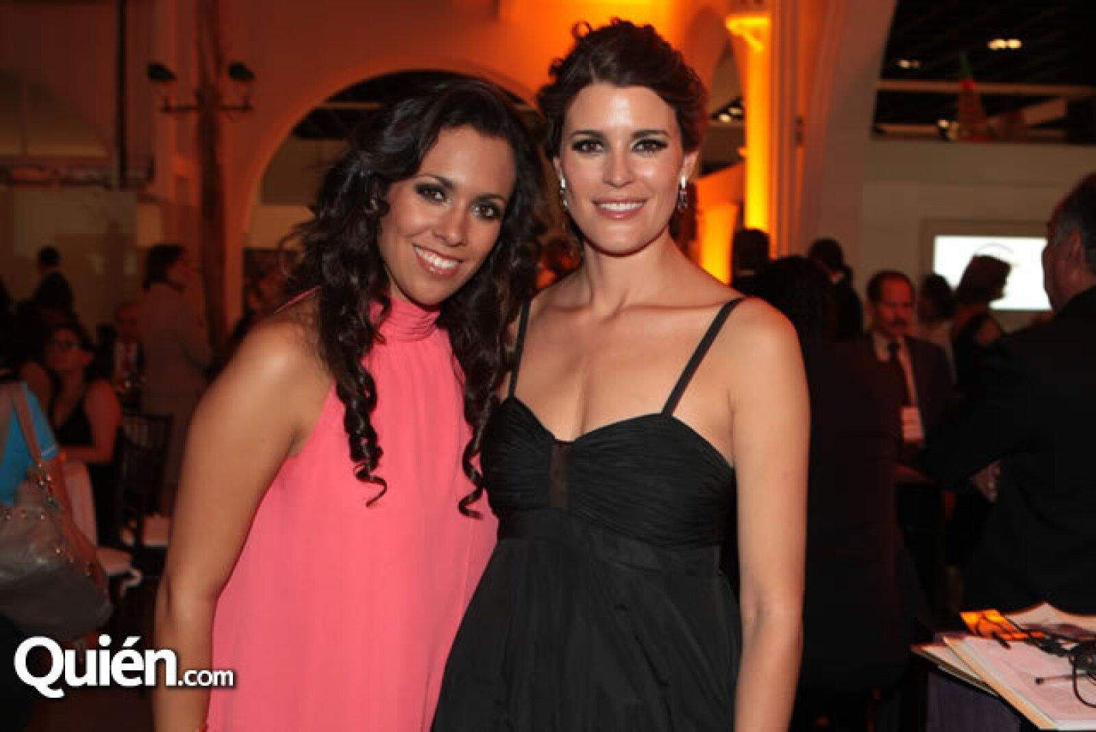 Melissa Vargas y Fabiola Torres