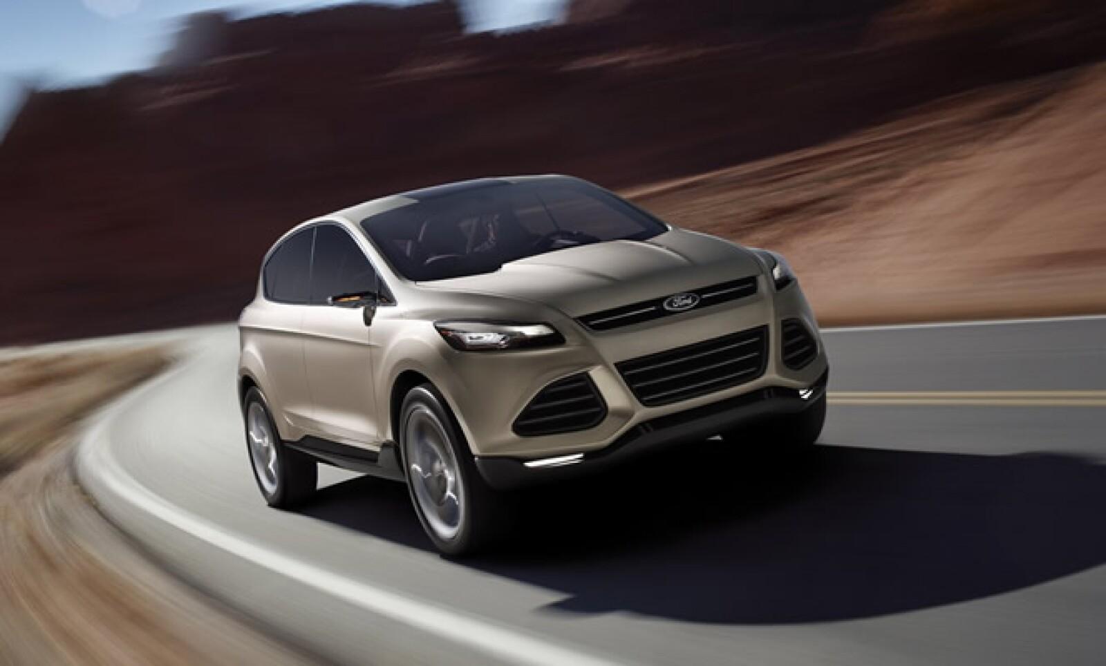 El último modelo que introdujo Ford es esta SUV, una evolución aerodinámica de la Escape del continente americano y el Kuga de Europa. Tendrá un motor Ecoboost que le ayudará a reducir sus emisiones hasta en un 20% y estará a la venta en 2012.