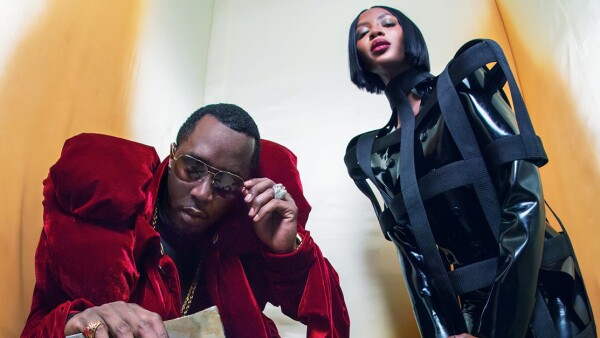 Sean Diddy y Naomi Campbell