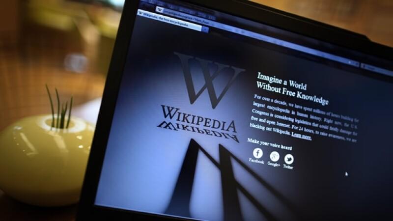 Wikipedia PIPA SOPA protesta
