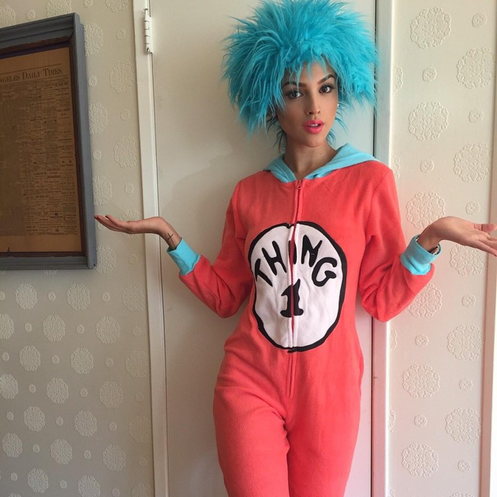 Eiza publicó una foto tardía de su disfraz de Halloween.