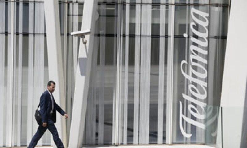 La ganancia neta de Telefónica subió 4.9% en el segundo trimestre del año. (Foto: Reuters)