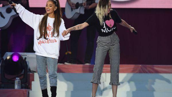 Así fue el regreso de Ariana Grande a Manchester