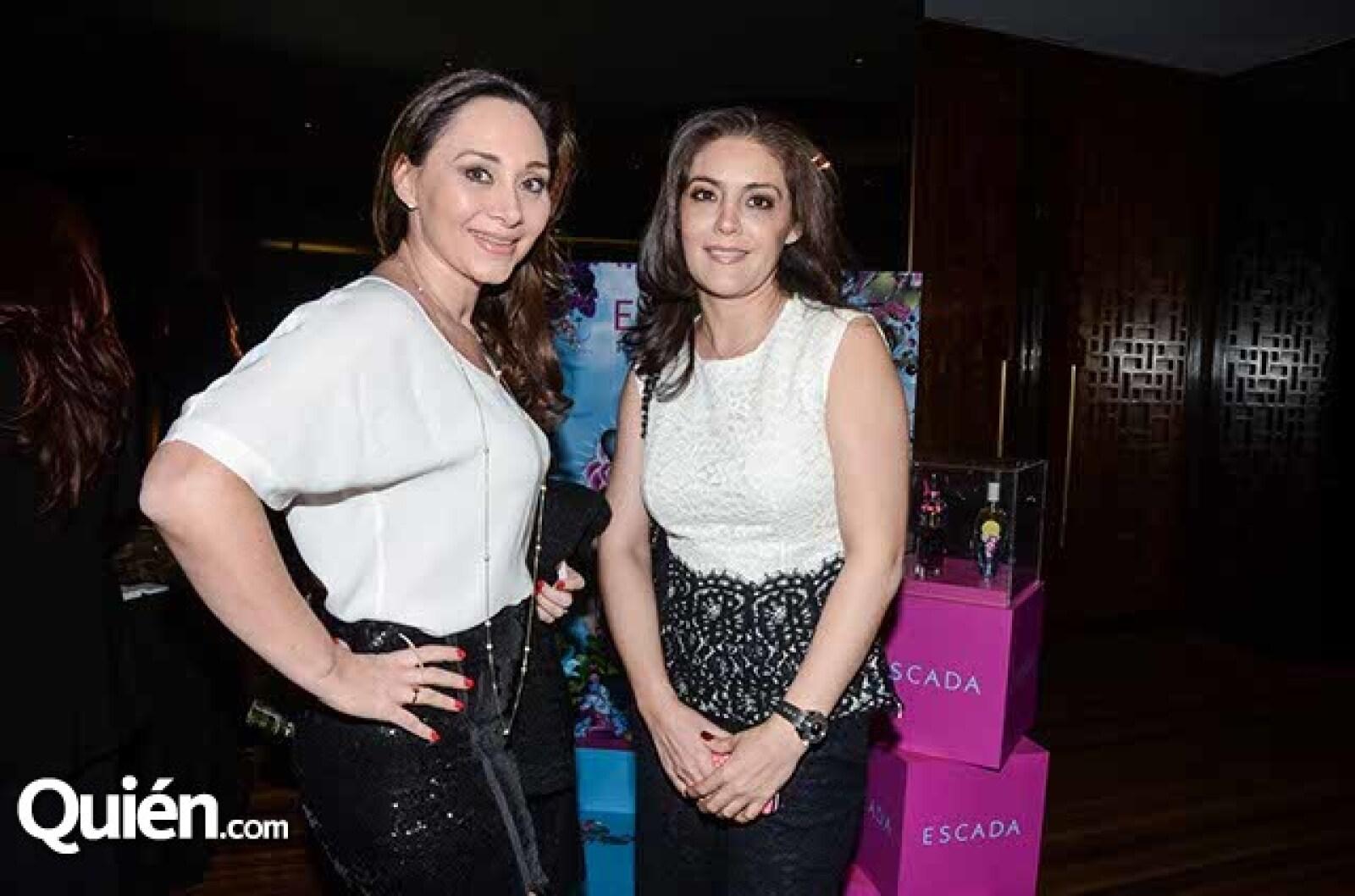 Lourdes Salazar y Blanca Nacer.