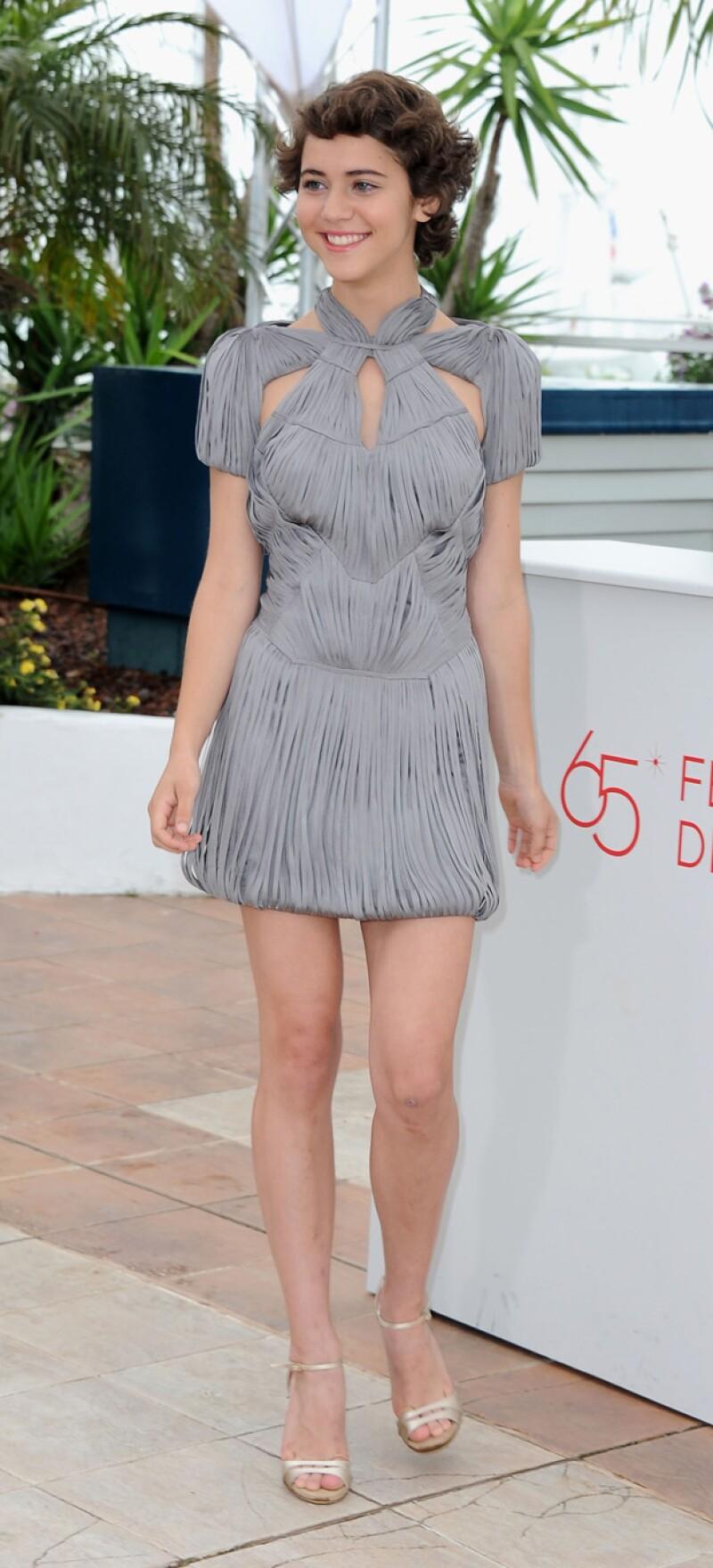 Tessa Ia vio despegar su carrera en cine en el 2012, cuando viajó a Cannes para la promoción de la película sobre bullying, `Después de Lucía´.