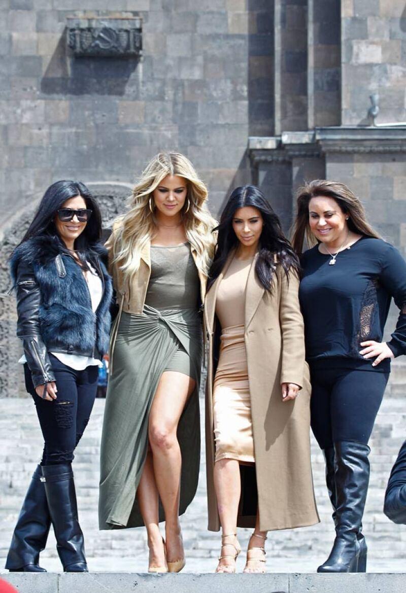 La visita de las Kardashian en Armenia tendrá duración de una semana.