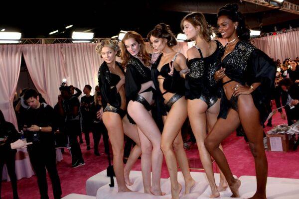 Victoria's Secret Fashion Show, Backstage, New York, USA - 08 Nov 2018