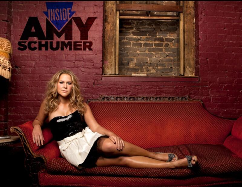 Amy Schumer, la lead en Inside Amy Schumer.