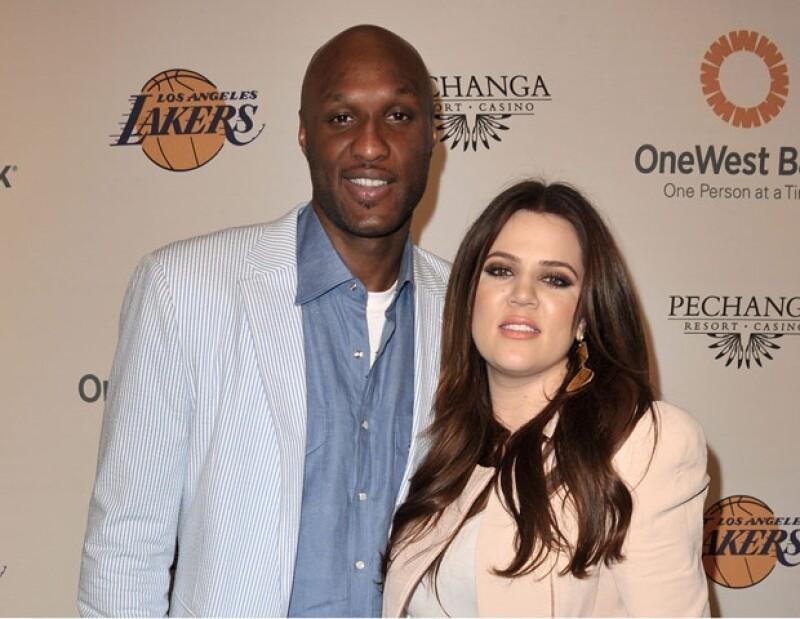 La pareja firmó el divorcio en diciembre pasado luego de enfrentar los problemas con las drogas de Lamar..