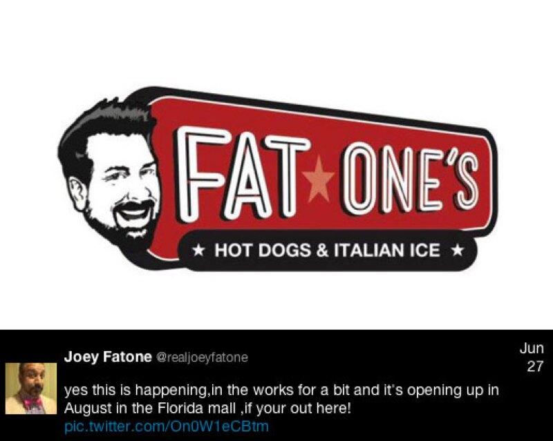 A través de Twitter, Joey anunció el inicio de su etapa como empresario.