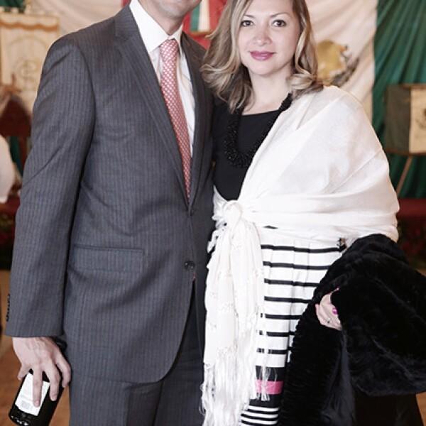 Adrian Barreto y Heidi Padilla