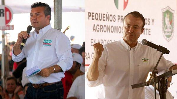 Mauricio Góngora en Quintana Roo (izquierda) y Quirino Ordaz en Sinaloa (derecha).