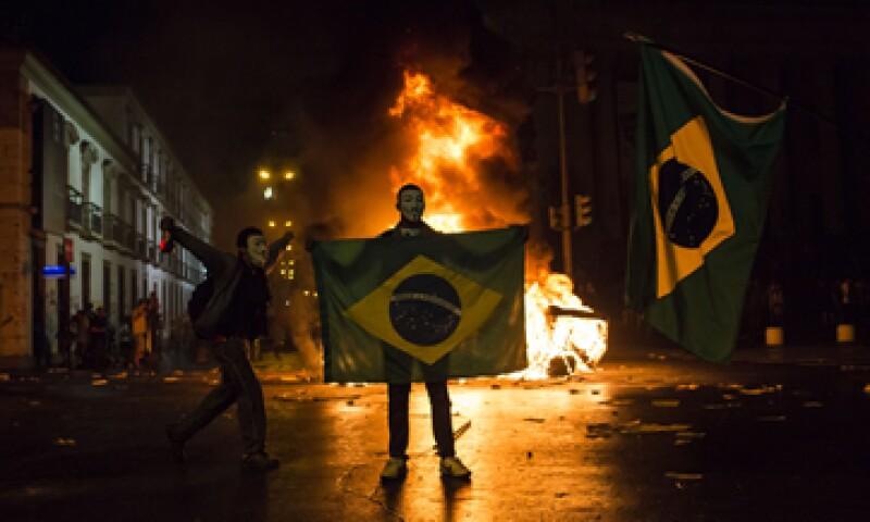 Las protestas se han repetido por todo el país desde la semana pasada. (Foto: AP)