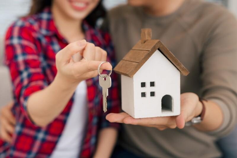 Casa - vivienda - crédito - llave