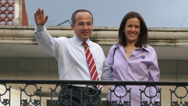 La familia Calderón-Zavala