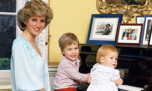 10 momentos inolvidables entre los príncipes Harry y William y Lady Di