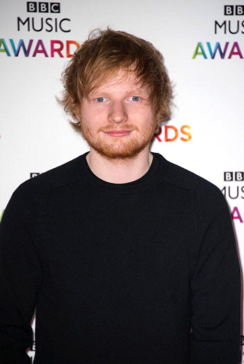 Ed Sheeran también fue de lo más sonado en el 2014, su álbum estuvo dentro de los primeros lugares.
