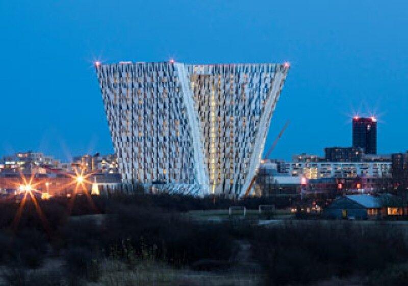 El edificio tendrá 23 pisos y será el más alto de toda la región escandinava. (Foto: Cortesía Adam Moerk)