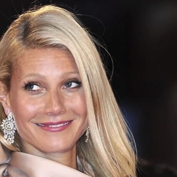 La actriz Gwyneth Paltrow desfila en el festival de cine