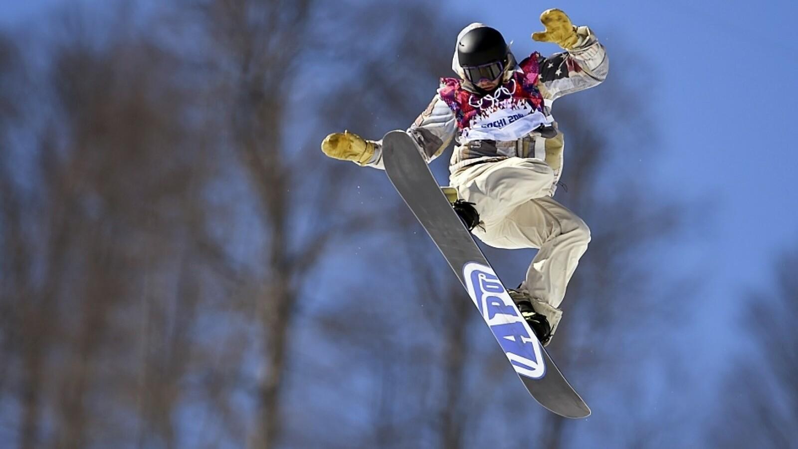 El estadounidense Sage Kotsenburg logró obtener la primera medalla de oro