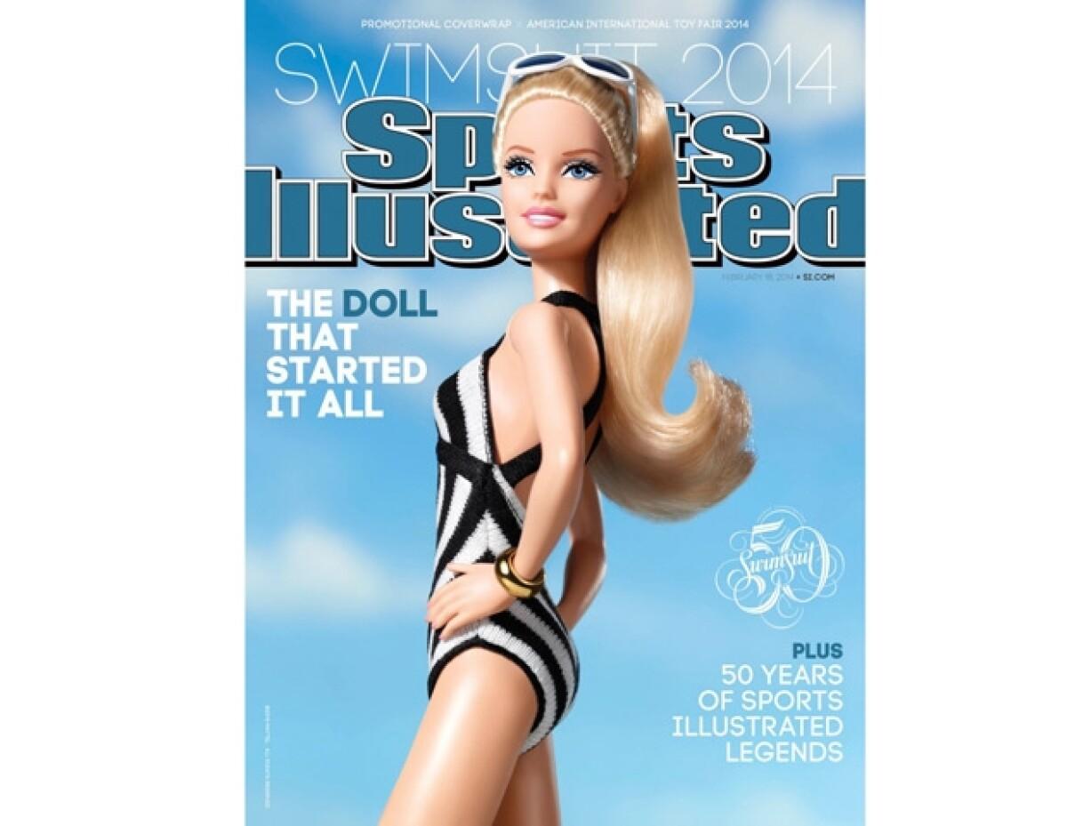 Barbie le roba la portada a las modelos más famosas