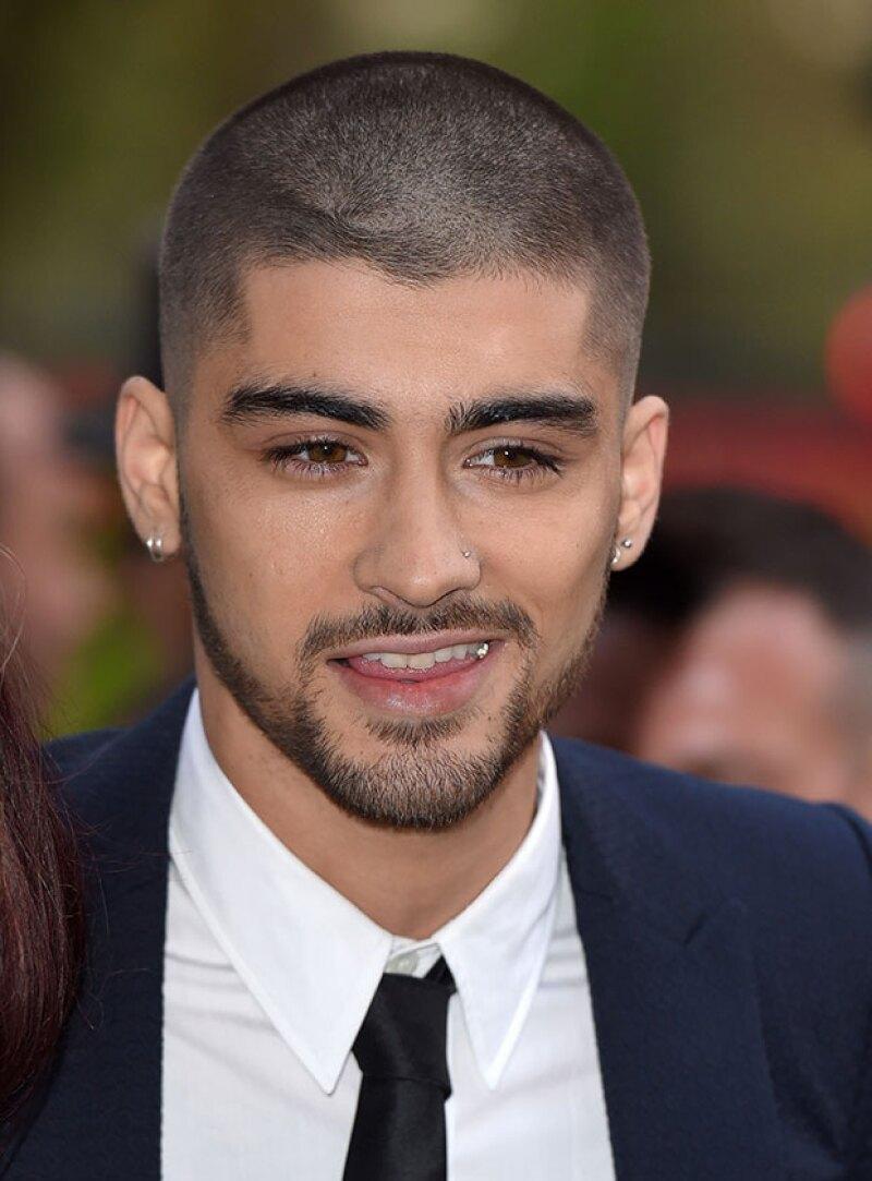 El ex integrante de la banda se deshizo de su pelo largo y reapareció en los British Asian Awards con un corte que dejó a todos sorprendidos.