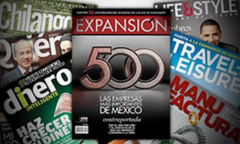 Grupo Expansión es una empresa de Time Inc., la mayor firma de contenidos editoriales del mundo. (Foto: Fotoarte Abrahan Ibáñez)