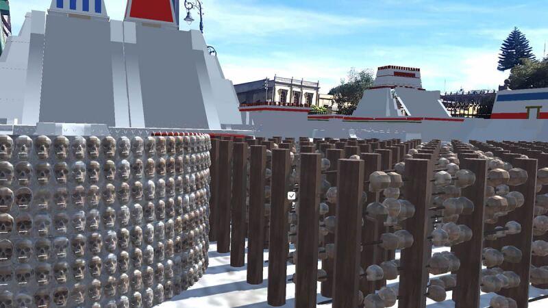 reconstrucción de templos virtual
