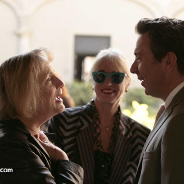 Maureen Spilk, Danna Brown y Rafael Micha