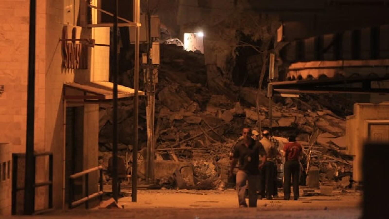 Un edificio colapsa en Río de Janeiro