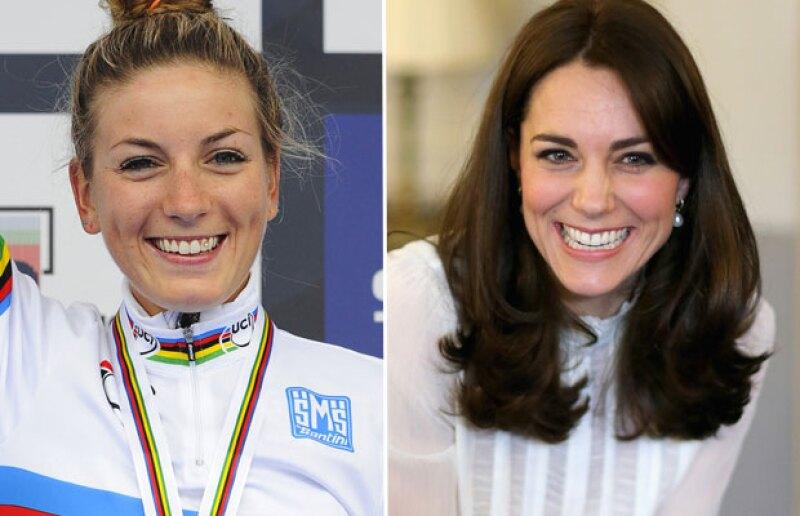 La prensa internacional ha hecho énfasis en el parecido que hay entre la duquesa y la deportista.