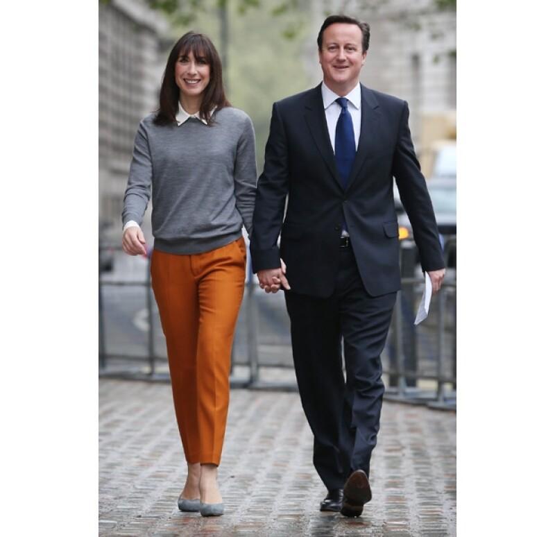 Samantha y David Cameron se conocieron en la adolescencia.