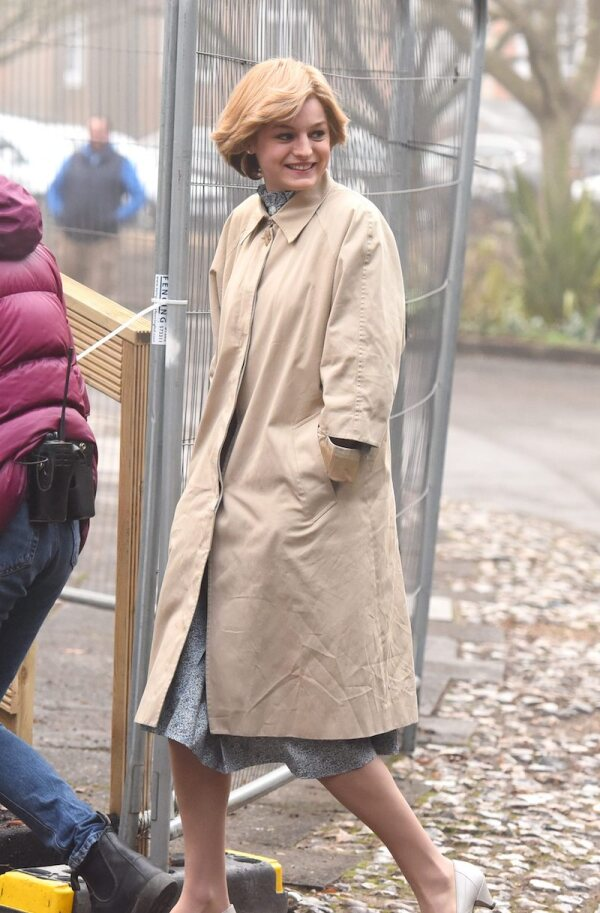 'The Crown' TV show, Series 4 filming, Winchester, UK - 21 Jan 2020