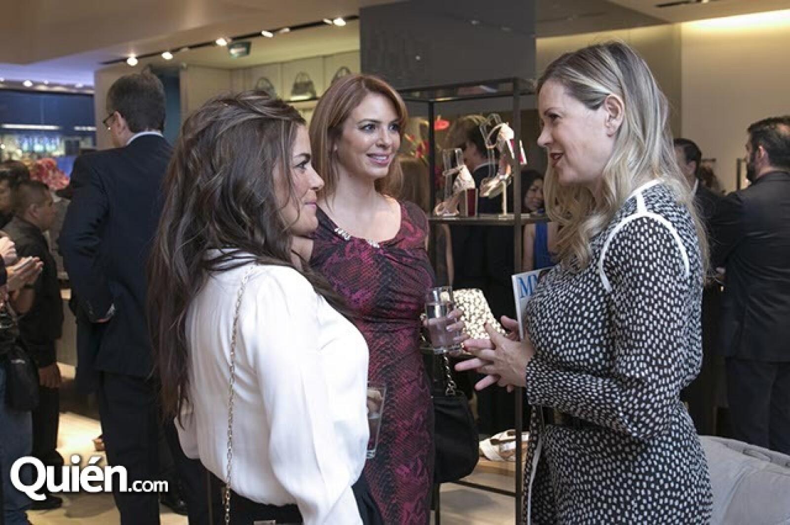 Sofia Karam,Cristina Oli y Rebeca de Alba