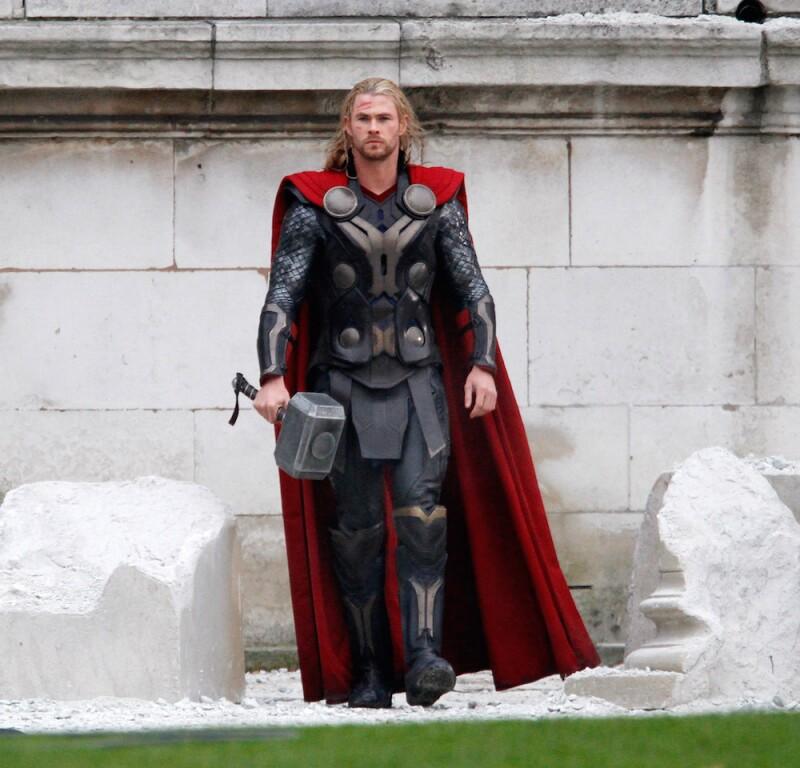 Set Of 'Thor 2' Sightings In London - November 16, 2012