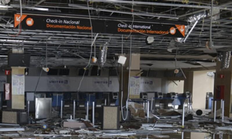 La reapertura del aeropuerto de San José del Cabo se tenía prevista para la próxima semana. (Foto: Cuartoscuro)