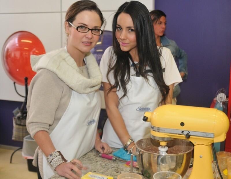Natalia Ferriz y Chantal Torres.