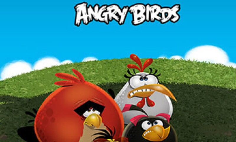 La empresa detrás de Angry Birds vale poco más de los 1,000 mdd, dijo su director de marketing. (Foto: Reuters)