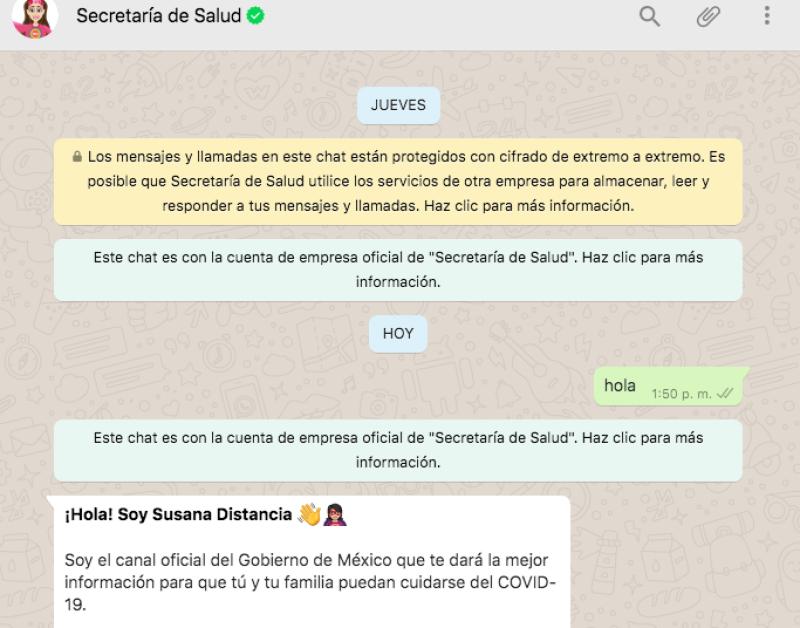 Susana Distancia